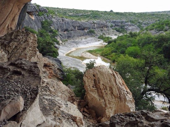 Comstock  Val Verde County, TX: Seminole Canyon State Park and Historic Site