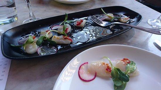 Tavola: Scallop dish
