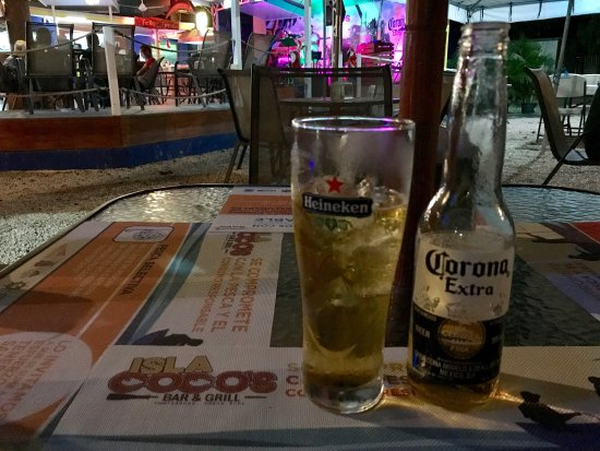 Province of Puntarenas, Costa Rica: Isla Coco's Bar & Grill