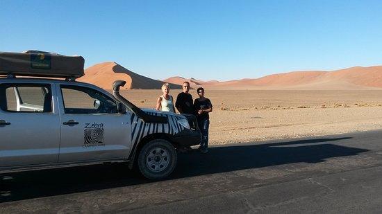 Benoni, South Africa: Zebra Camper Hire