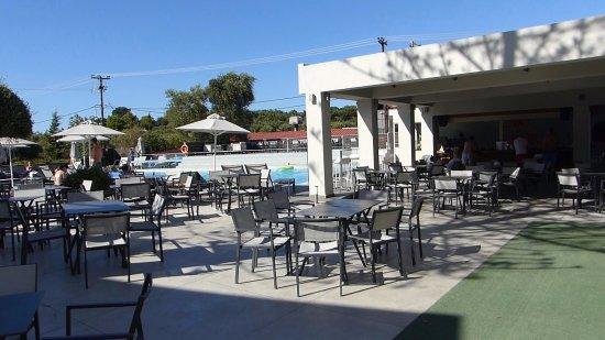 Poole Terrace Seating Area