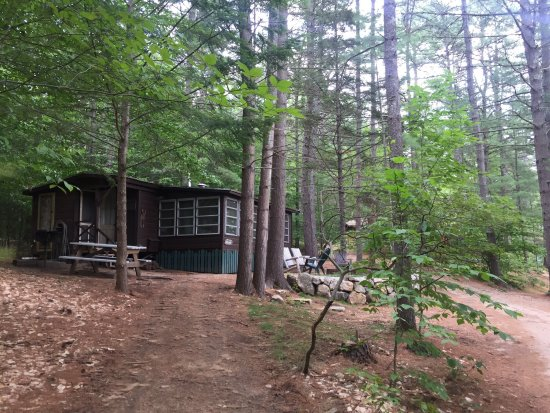 Chocorua, NH: Wabanaki: surrounding, cabins, shop