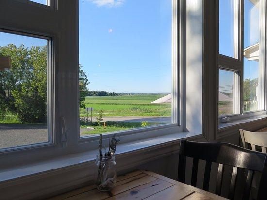 Nicolet, Canada: Vue par la fenêtre