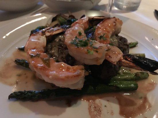 Eddie V's Prime Seafood: Filet and Scampi