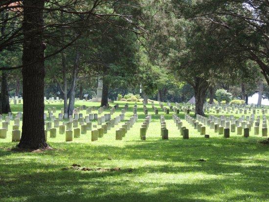 Murfreesboro, TN: Cemetery from the rotunda
