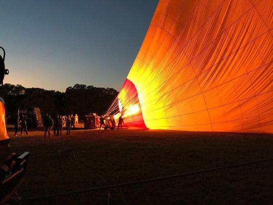 Enkerende Tented Camp: paseo globo sabana