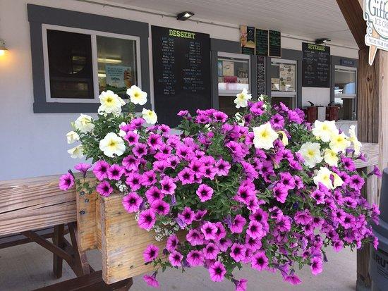 Roy's Allsteak Hamburger and Golf center : Flowers in Bloom