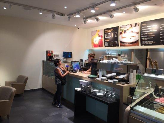 Greentree Café : Very good biology ice cream and good faire trade caffee.