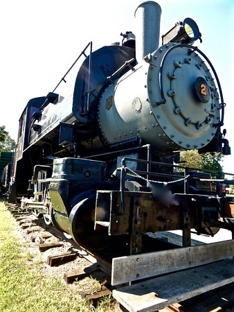 Essex, CT: A model of the steam train- walk around the station before your trip to see interesting memorabi