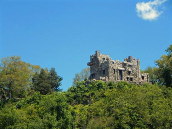 Essex, CT: A view of Gillette Castle from the steamboat. Glides by with time to take great photos.