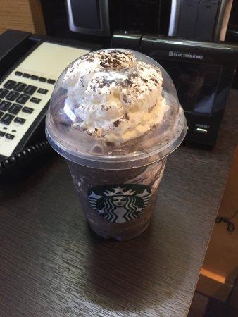 ปรินซ์จอร์จ, แคนาดา: Midnight Mint Frappuccino