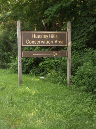 MASSACHUSETTS – ROWLEY - HUNSLEY HILLS CONSERVATION AREA - ROAD SIGN
