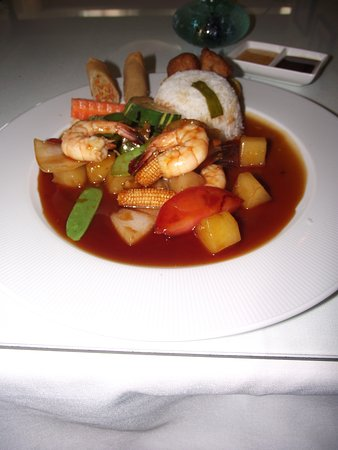 MASSACHUSETTS – ROWLEY – ROYAL ORCHID – SHRIMP WITH SWEET & SOUR SAUCE LUNCH SPECIAL