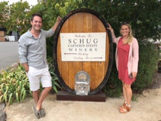 Schug Carneros Estate Winery : Beautiful venue
