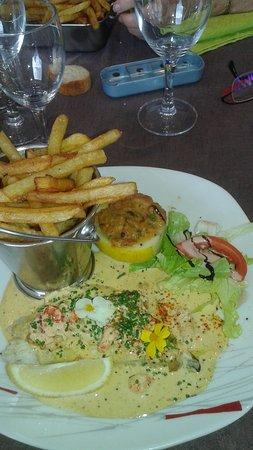 La Presqu'ile: Bar entouré de ses petits légumes