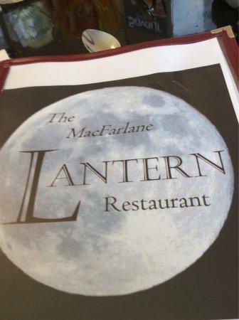 """Pugwash, Καναδάς: Este restaurante cambió de nombre, este es el actual """"Lantern restaurante"""" si bien sigue el mote"""