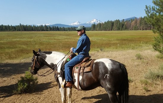 Sisters, OR: Black Butte Ranch Stables - Hole in the Wall Gang morning ride