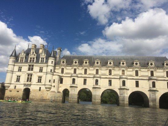 Chisseaux, Франция: Chenonceau en bateau