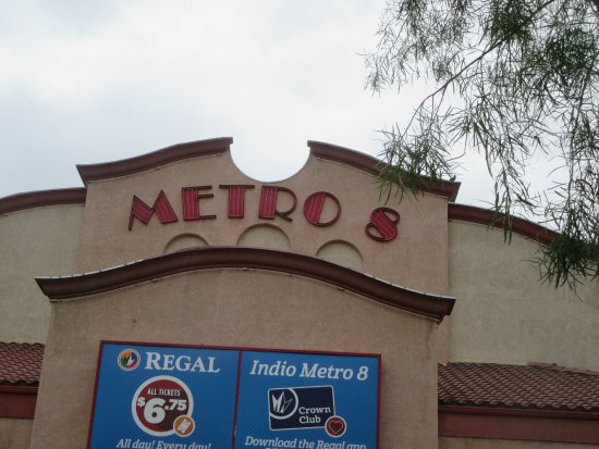 ‪‪Indio‬, كاليفورنيا: Regal Cinemas Metro 8, Indio, CA‬
