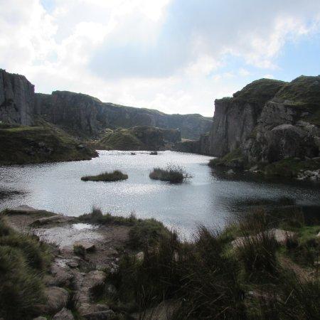 Princetown, UK: Foggintor Quarry Dartmoor