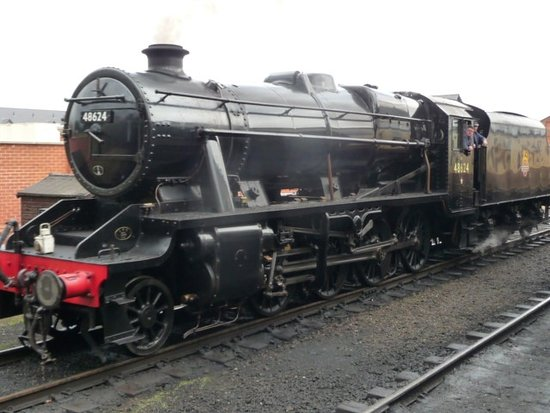 Great Central Railway : One of the many restored locomotives at the railway