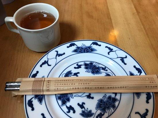 Oriental Flavor: Lunch setup