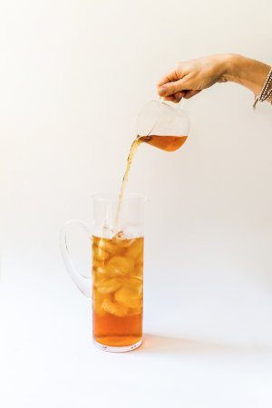 Iced Tea of your choice is availble throughout Summer