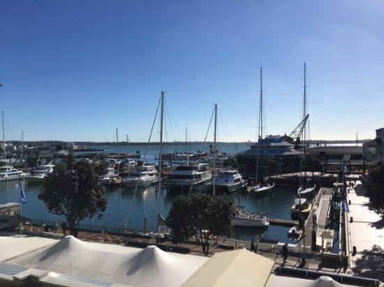 The Sebel Auckland Viaduct Harbour: View from our balcony