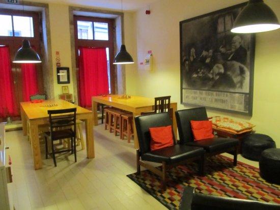The Poets Inn : Dining room
