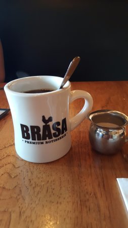 Brasa Rotisserie St. Paul: great coffee here