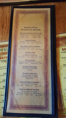 Brasa Rotisserie St. Paul: Specials