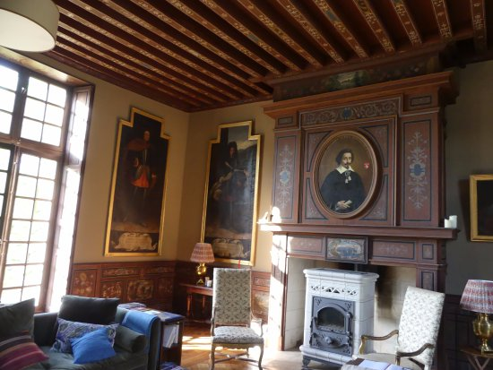 Huisseau-sur-Cosson, Франция: Sitting Room
