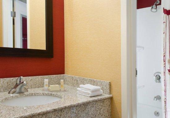 Bathroom Vanity Kansas City guest bathroom vanity - picture of courtyard kansas city south