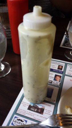 Port Elgin, Canada: Tartar sauce