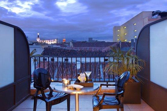 Terrace Duplex at Hotel Villa Real Madrid