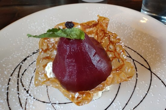Aurora, Kanada: Port poached pear