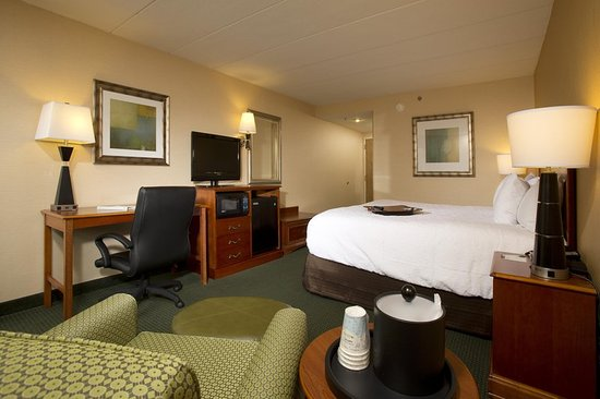 Hampton Inn Alexandria/Pentagon South: Accessible King Guest Room with Chair 2