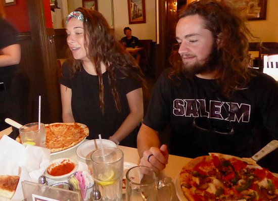 Edinburg, VA: The off-duty camp counselors ordered pizzas