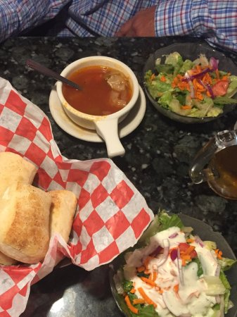 Taylor, MI: Bread, salad, and soup