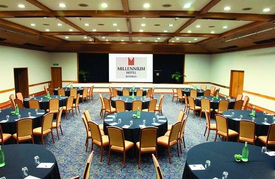 Millennium Hotel Rotorua Conference Table Set Up & Conference Table Set Up - Picture of Millennium Hotel Rotorua ...