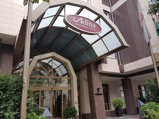 Adina Apartment Hotel Budapest : Hotel entrance