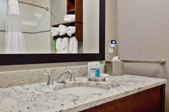 Hampton Inn & Suites Chapel Hill/Carrboro: Guest Bathroom