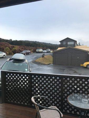 Skotel Alpine Resort: View from balcony