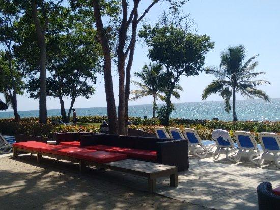 Isla Baru, Colombia: Playa Puntilla
