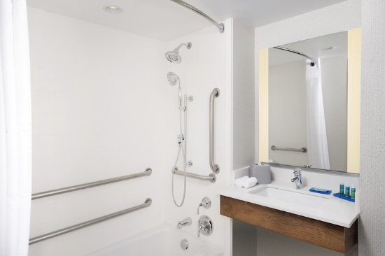 College Park, MD: Guest bathroom with ADA tub