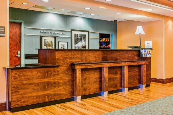 Chino Hills, Californien: Reception Desk