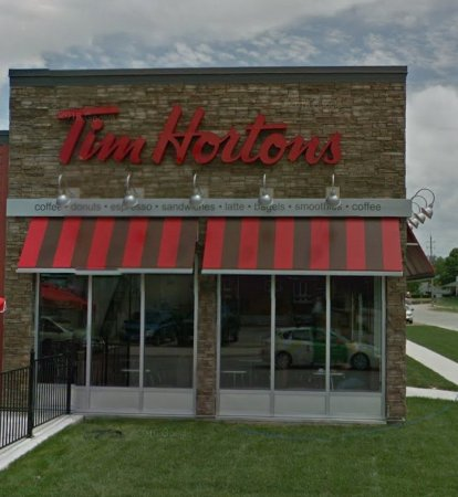 Harrow, كندا: Tim Hortons