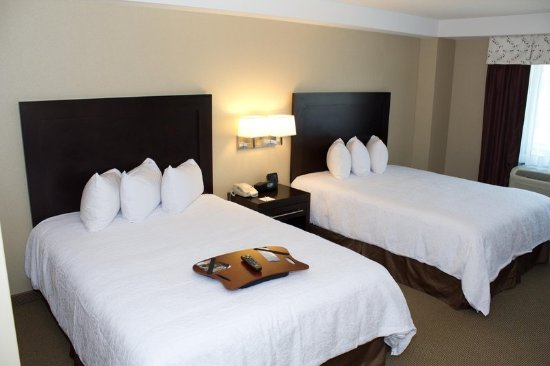 Hampton Inn & Suites Boston Crosstown Center: Accessible Double Beds Guest Room