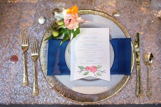 Irving, TX: WeddingTable Setting