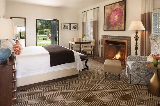 La Quinta, Californië: Vintage Casita Bedroom